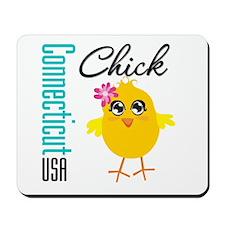 Connecticut Chick Mousepad