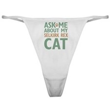Selkirk Rex Cat Classic Thong