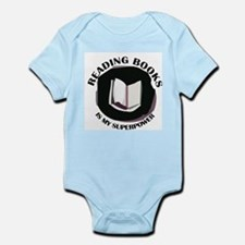 reading books is my superpower Body Suit