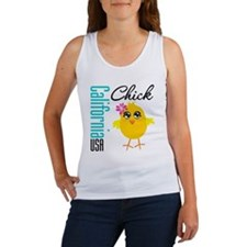California Chick Women's Tank Top