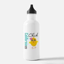 California Chick Water Bottle