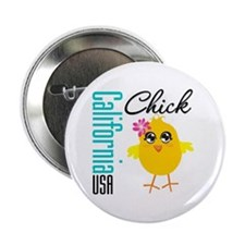 """California Chick 2.25"""" Button (10 pack)"""