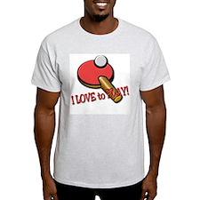 Ping Pong Ash Grey T-Shirt