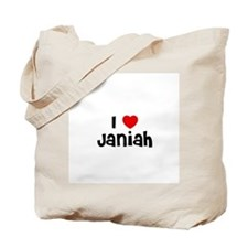 I * Janiah Tote Bag