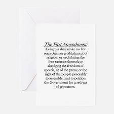 First Amendment Greeting Cards (Pk of 10)