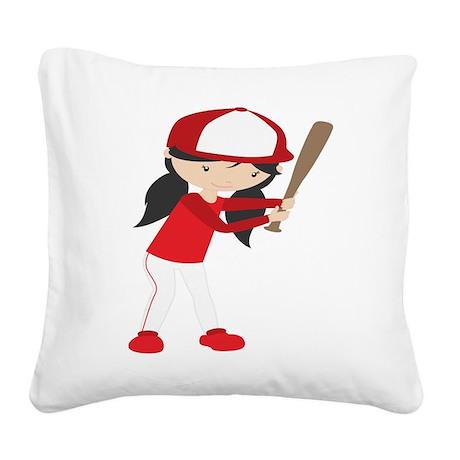 Pomona College Style Throw Pillow
