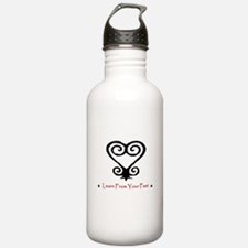 Learn From Your Past (Black/R Water Bottle