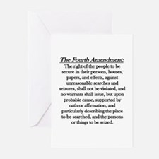 Fourth Amendment Greeting Cards (Pk of 10)