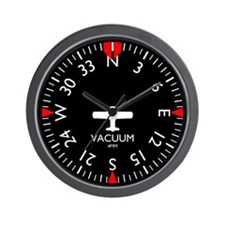 Aviation Heading Indicator Wall Clock
