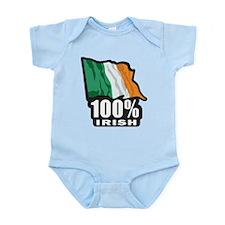 100% IRISH Infant Bodysuit