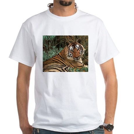 Tweaked Stuff -Marie Clarkson White T-Shirt