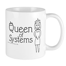 Queen of Systems Mug