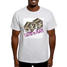 Dice Ash Grey T-Shirt