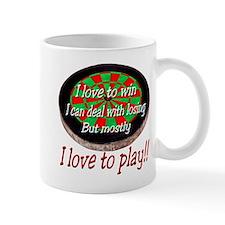 Dart Board Small Mug