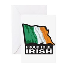 Proud to be Irish Greeting Card