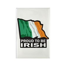 Proud to be Irish Rectangle Magnet (10 pack)