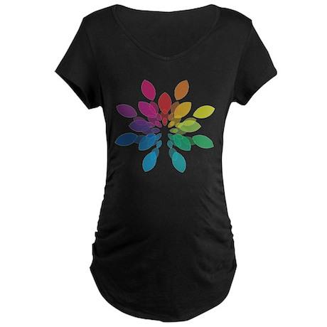Lights Design Maternity Dark T-Shirt