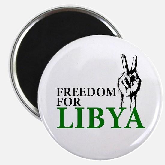 Freedom for Libya Magnet