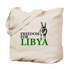 Freedom for Libya Tote Bag
