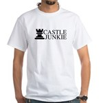 Castle Junkie White T-Shirt