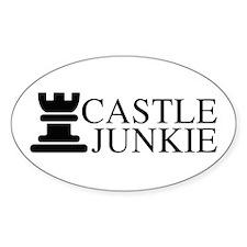 Castle Junkie Sticker (Oval)