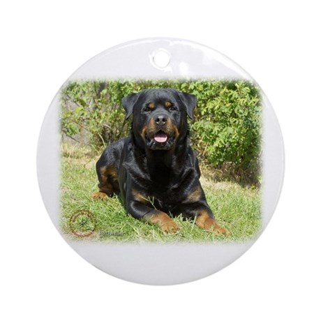Rottweiler 9R047D-049 Ornament (Round)