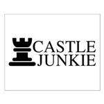 Castle Junkie Small Poster