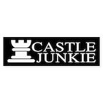 Castle Junkie Sticker (Bumper 50 pk)