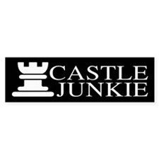 Castle Junkie Sticker (Bumper)
