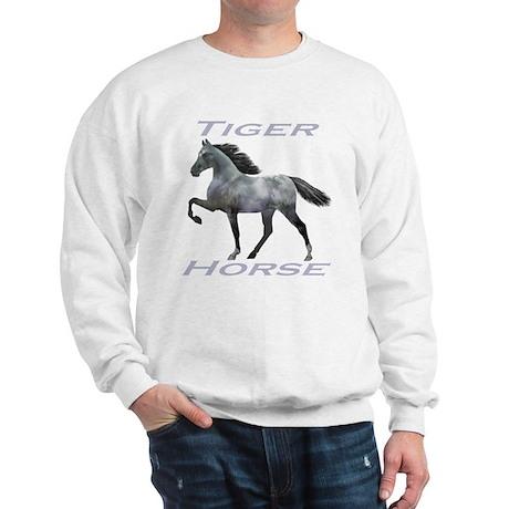 Tiger Horse varnish Sweatshirt