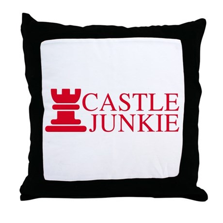 Castle Junkie Throw Pillow