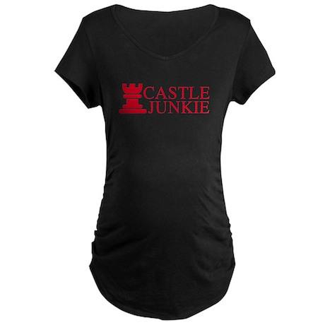 Castle Junkie Maternity Dark T-Shirt