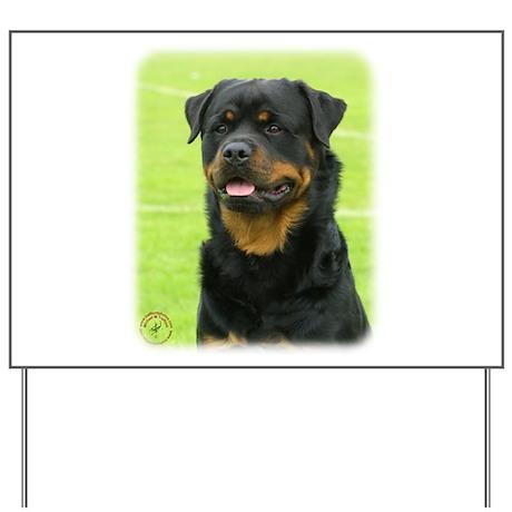 Rottweiler 9W025D-028 Yard Sign