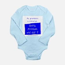 Librarian the original Long Sleeve Infant Bodysuit
