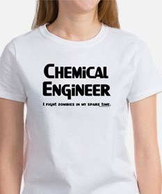 Chem Engineer Zombie Fighter Tee
