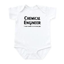 Chem Engineer Zombie Fighter Infant Bodysuit
