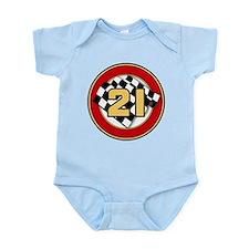 CAR 21 WINNER'S CIRCLE Infant Bodysuit
