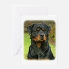 Rottweiler 9W044D-073 Greeting Card