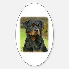Rottweiler 9W044D-073 Sticker (Oval)