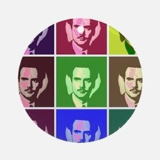 McLuhan Ornament (Round)