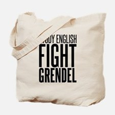 Study and Fight (English) Tote Bag