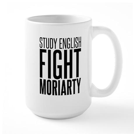 Study and Fight (English) Large Mug
