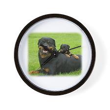 Rottweiler 9W025D-081 Wall Clock
