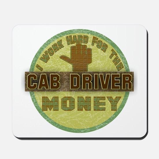 Cab Driver Mousepad