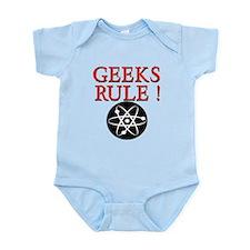 Geeks Rule ! Infant Bodysuit