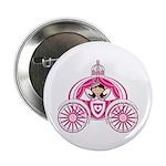 "Princess in Carriage 2.25"" Button (100 Pk)"