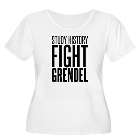 Study and Fight (History) Women's Plus Size Scoop
