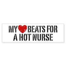 My Heart Beats for a Drummer Bumper Bumper Sticker