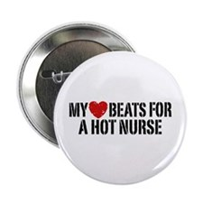 """My Heart Beats for a Drummer 2.25"""" Button"""