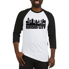 Kansas City Skyline Baseball Jersey